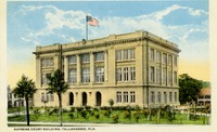 Supreme Court Building, Tallahassee, Fla.