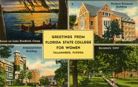 Greeting From Florida State College for Women