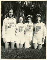 Anna Giese, Nita Bowles, Frankie Hall, and Jeanie Booth