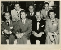 Group of Men at a Party