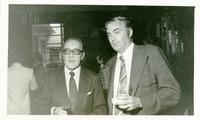 Two Unidentified Men at a Party