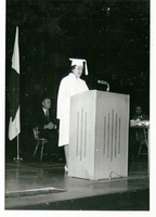 Graduate Speaking at Commencement