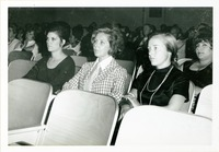 Shirley Marshall in the Audience at Commencement