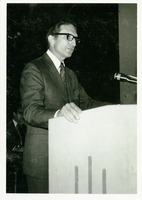 Stanley Marshall Speaking at Commencement