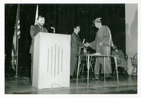 Stanley Marshall Presenting Diplomas at Commencement