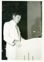 Lawton Chiles Speaking at Commencement