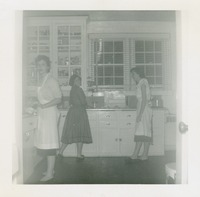 Women in the Kitchen of the Home Management House