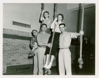 The Big Five on the Ropes (Mary Jackson, Pat Arrants, Jack Rogero, John Ziles, and Don Teal)