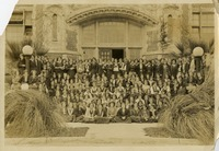 Class Photograph in Front of Administration Building