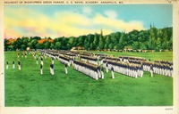 Regiment of Midshipmen Dress Parade