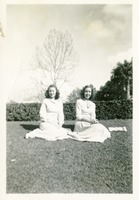 Betty Jane Mattison and Marjorie Fogarty