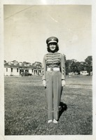 Marjorie Fogarty in her FSU Marching Chiefs Band Uniform