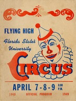 Program Cover, Flying High Circus