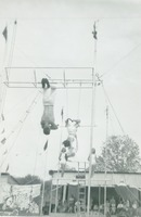 Circus Performers Performing Stunts