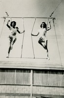 Two Circus Students on the Trapeze