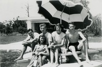 Group of Students Visiting Sarasota, Florida