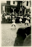 Girls Marching at Governor Fuller Warren's Inaugural Parade