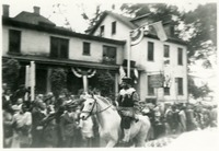Man Riding a Horse at Governor Fuller Warren's Inaugural Parade