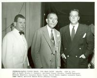 Claude Pepper with Winston K. Pendleton and Theron Lamar Caudle at the Jefferson-Jackson Day dinner