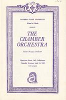 The Chamber Orchestra, 1968