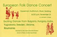 European Folk Dance Concert