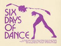 Six Days of Dance, 1972