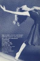 Department of Dance Auditions, 1987-1988