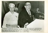 Claude Pepper addressing the Brotherhood of Railway Trainmen