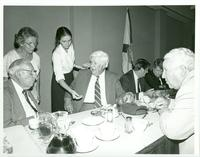 Claude Pepper and Tip O'Neill attending a luncheon