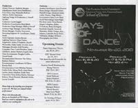 Days of Dance