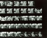 Contact sheet of photographs from the dedication of the Mildred and Claude Pepper Library