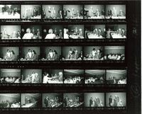Contact sheet of photographs from the presentation of an Honorary Degree to Claude Pepper