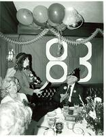 Singing telegram performing at Claude Pepper's 83rd birthday party