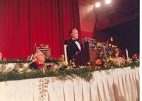 Bob Hope speaking at Claude Pepper's 84th birthday party