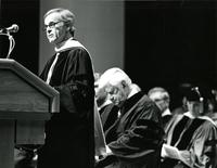Speaker at the Honorary Degree ceremony for Claude Pepper