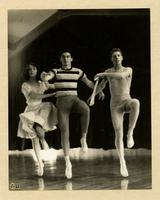 Pamela Duke, Jim Fadigan and Alex Hay dancing