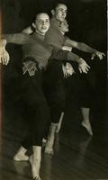 Nancy Warren Smith, Dick Puckett and Pamela Duke dancing Jazz