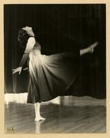 Barbara Grebel dancing in The Cycle