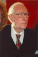Claude Pepper at the opening of the Mildred and Claude Pepper Library