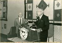 Claude Pepper addressing the Philadelphia Council, AFL-CIO, at the Spring Educational Conference