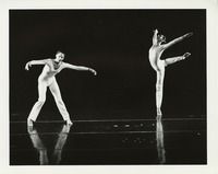 Peggy Lyman and dancer