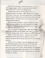 An Evening of Dance 1959 Press Release