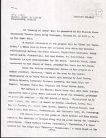An Evening of Dance 1952 Press Release