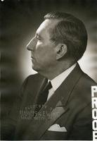 Studio portrait proof of Claude Pepper