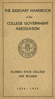 The Judiciary Handbook of the College Government Association