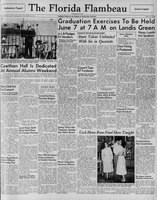 Florida Flambeau, May 21, 1948