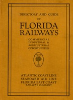Directory and guide of Florida railways for shippers
