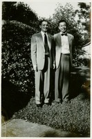 Calvin Koesy and Roy Holt Dressed-Up for a Church Service