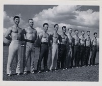 Men From The 1956 Flying High Circus