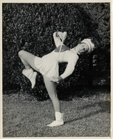 Sue Herndon as Majorette at Chipley High School